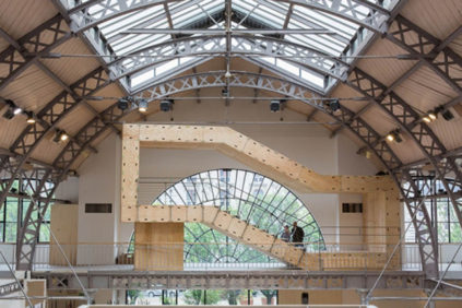 "Paris | ""BAM"" modular building system on view at Pavillon de l'Arsenal"