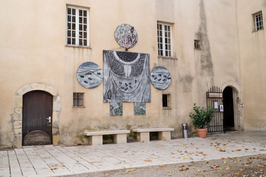 Chateau Vallauris Musee Picasso Inexhibit 03