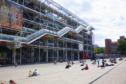 Paris Museums Centre Pompidou