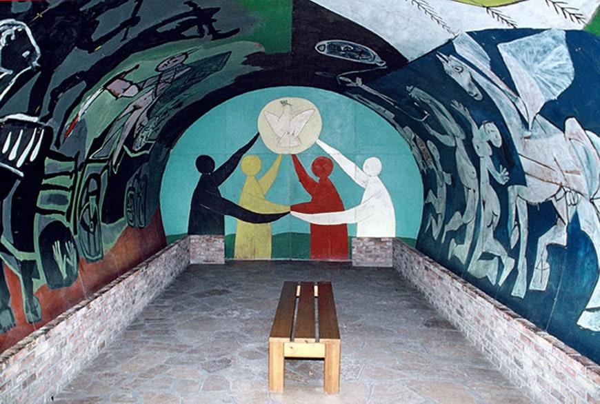 Picasso La Guerre et la Paix Chapel of Vallauris Castle