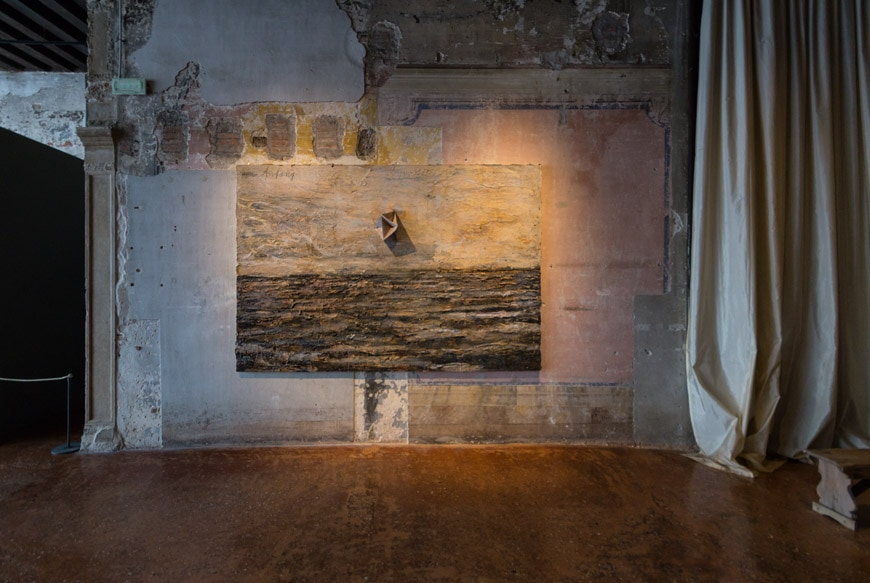 Anselm Kiefer Am Anfang (In The Beginning) painting