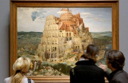 Brueghel Elder Tower Babel Kunsthistorisches Museum Vienna