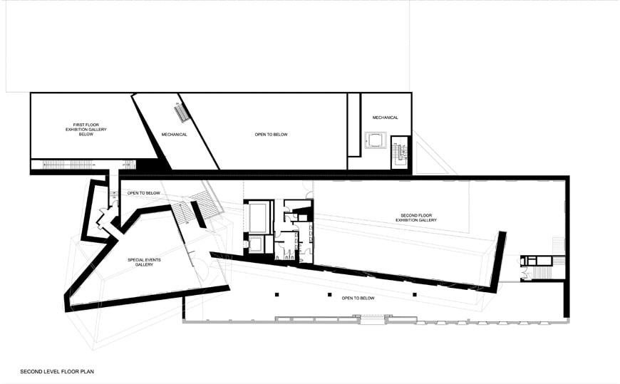 Contemporary Jewish Museum San Francisco Daniel Libeskind floor plan 2