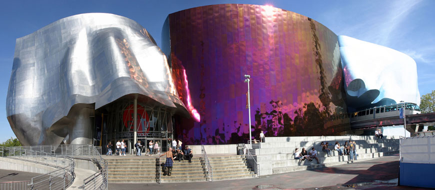 EMP museum Seattle Frank Gehry exterior 01