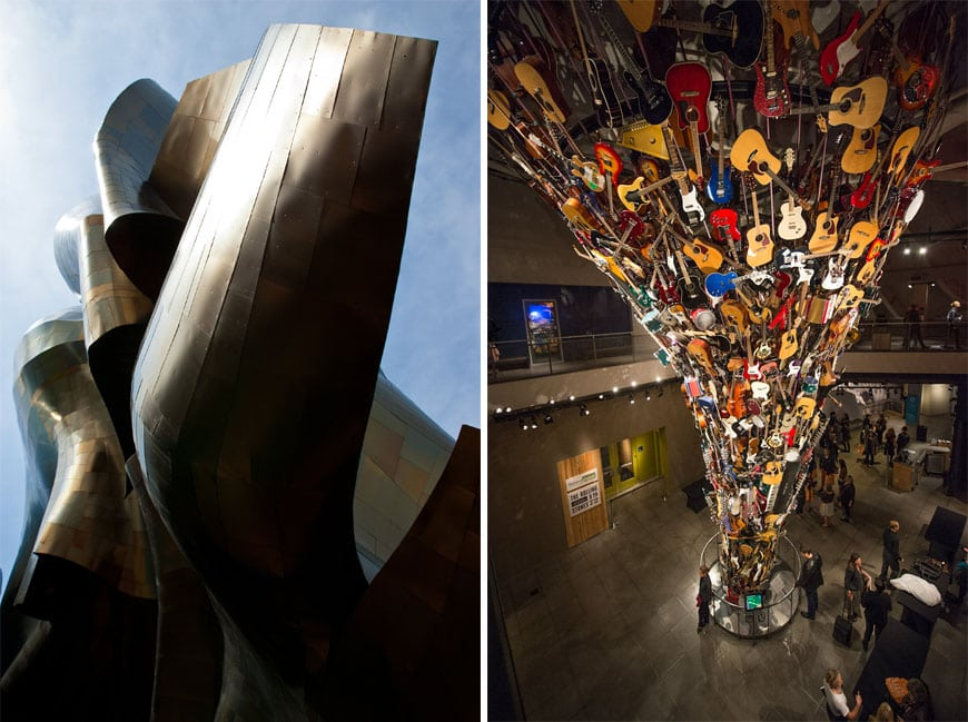 EMP museum Seattle Frank Gehry