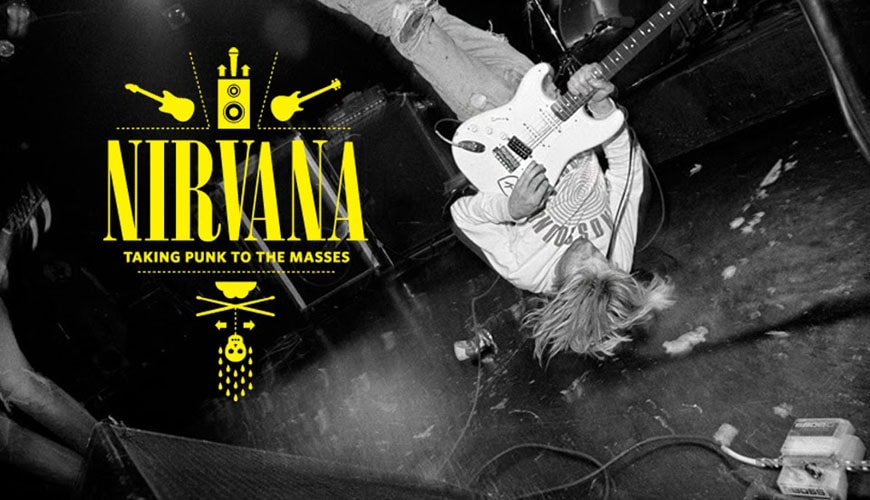 EMP museum Seattle Nirvana exhibition 02
