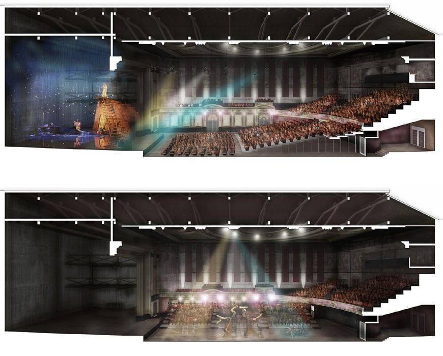 Alexandra Palace London Feilden Clegg Bradley Theater 05