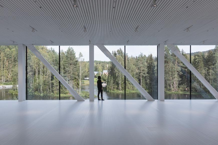 Bjarke Ingels Twist bridge museum Kistefos art park Norway 04