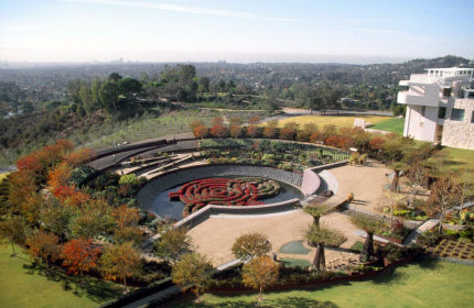 Getty center museum Los Angeles gardens