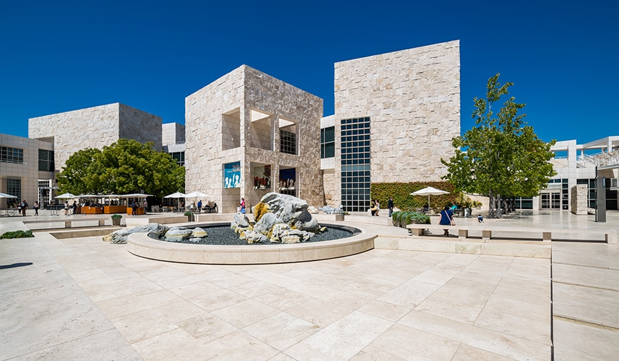J. Paul Getty Museum, Los Angeles, Richard Meier, exterior 1
