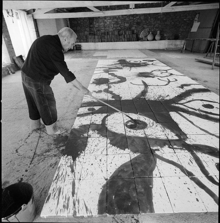 Joan Miro exhibition Kunsthaus Zurich 01
