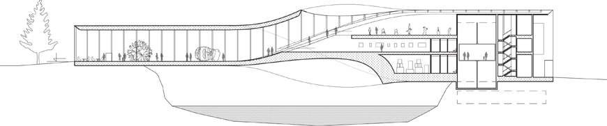 Kistefos Museum Bjarke Ingels Group section