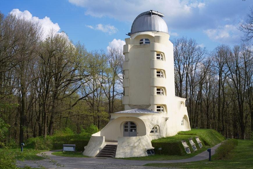 Modern Architecture conservation Einstein Tower Potsdam Mendelsohn