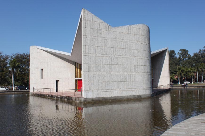 Modern Architecture Conservation Gandhi Bhawan Chandigarh