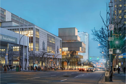 Il progetto di Herzog & de Meuron  per la nuova  Vancouver Art Gallery