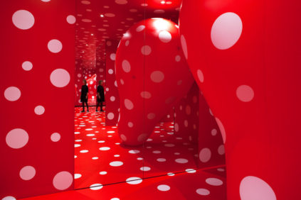 Into Yayoi Kusama's Infinity at the Louisiana