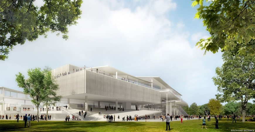 Budapest National Gallery competition winner SANAA 02