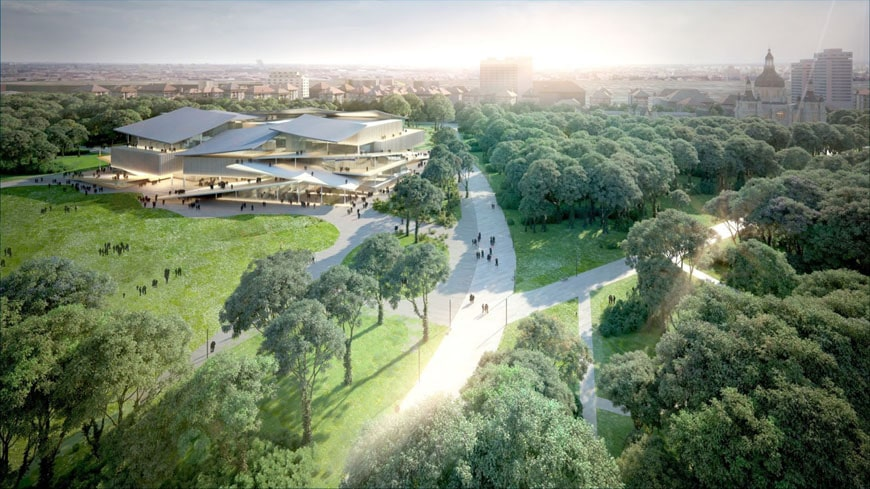 Budapest National Gallery competition winner SANAA 03