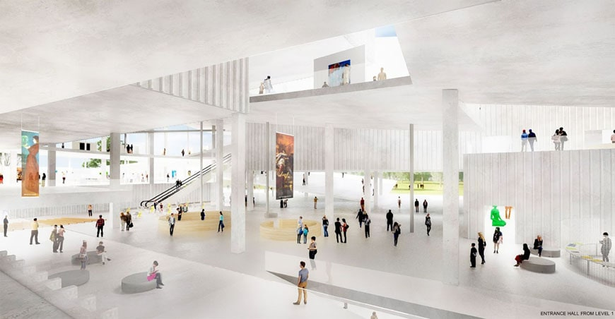 Budapest National Gallery competition winner SANAA 04