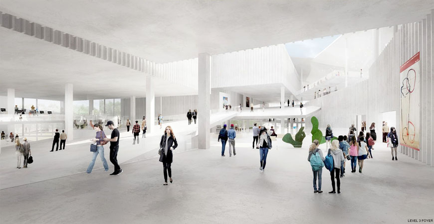 Budapest National Gallery competition winner SANAA 05