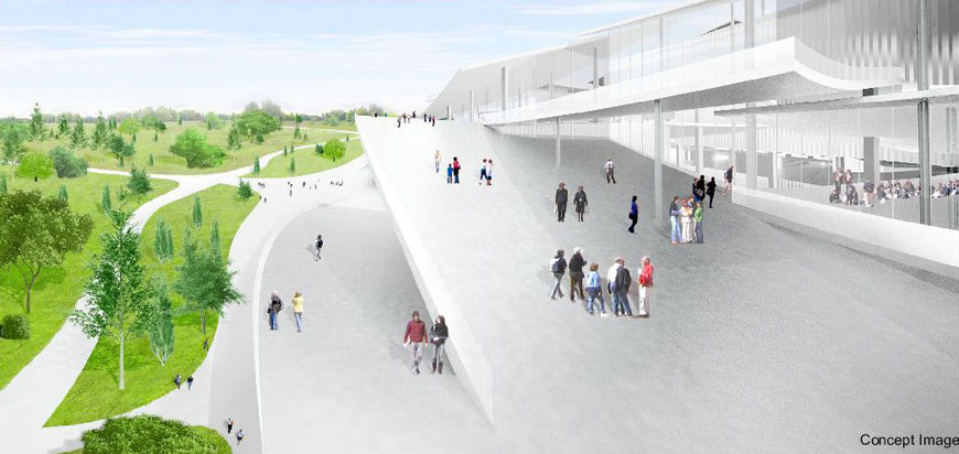 Budapest National Gallery competition winner SANAA 06