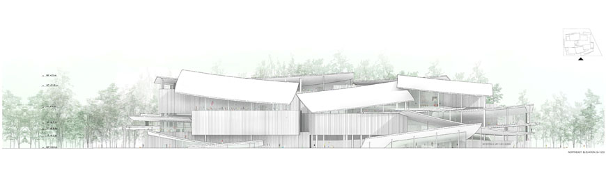 Budapest National Gallery competition winner SANAA 08
