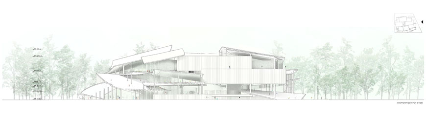 Budapest National Gallery competition winner SANAA 10