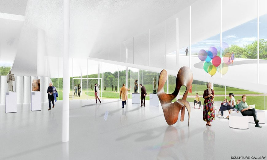 Budapest National Gallery competition winner SANAA 12