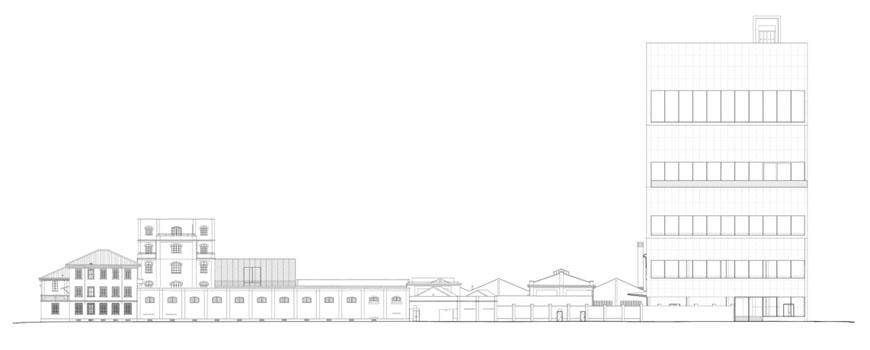 Fondazione Prada Milan Rem Koolhaas elevation 2
