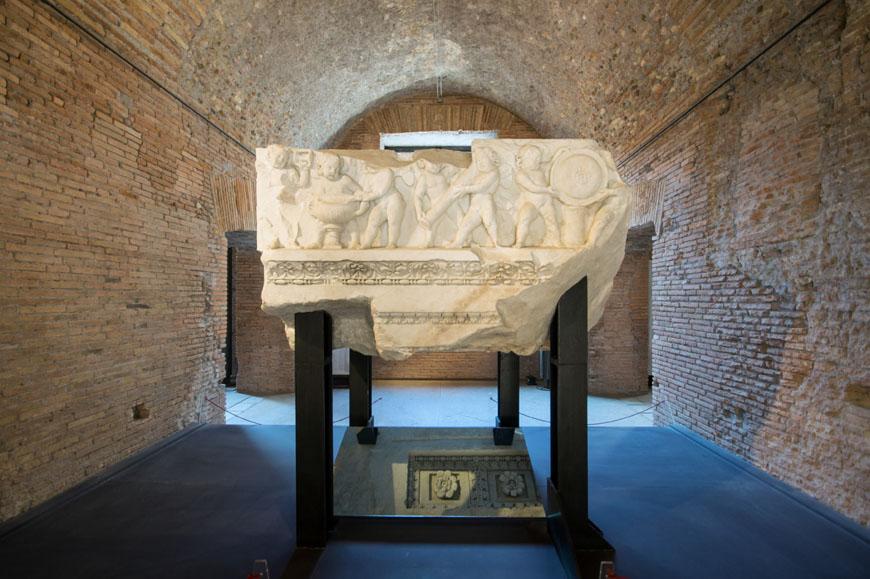 Imperial Fora Museum Rome Museo Fori Imperiali Inexhibit 07
