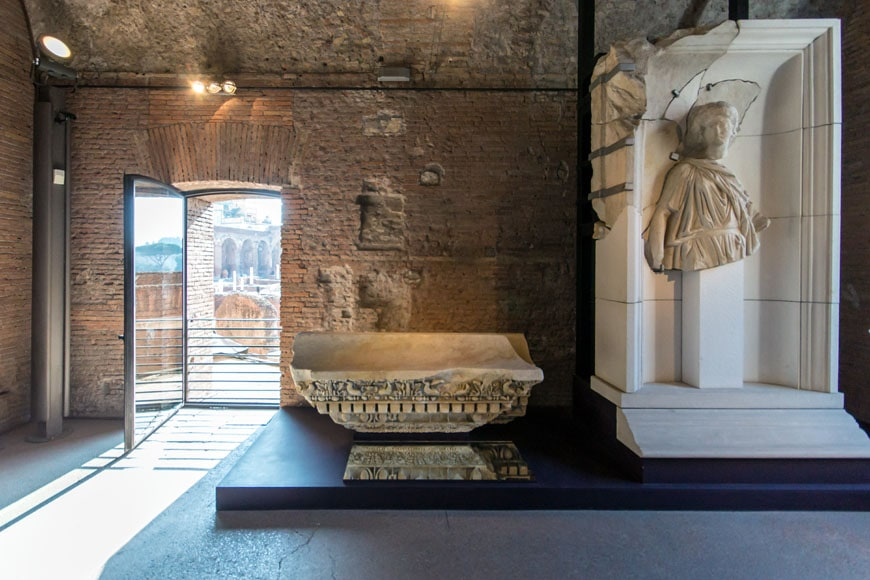 Imperial Fora Museum Rome Museo Fori Imperiali Inexhibit 09