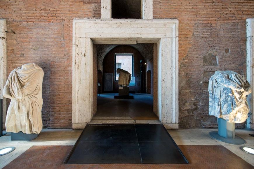 Imperial Fora Museum Rome Museo Fori Imperiali Inexhibit 10b