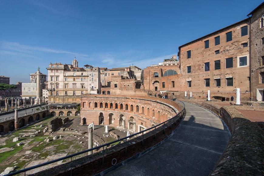Imperial Fora Museum Rome Museo Fori Imperiali Inexhibit 17