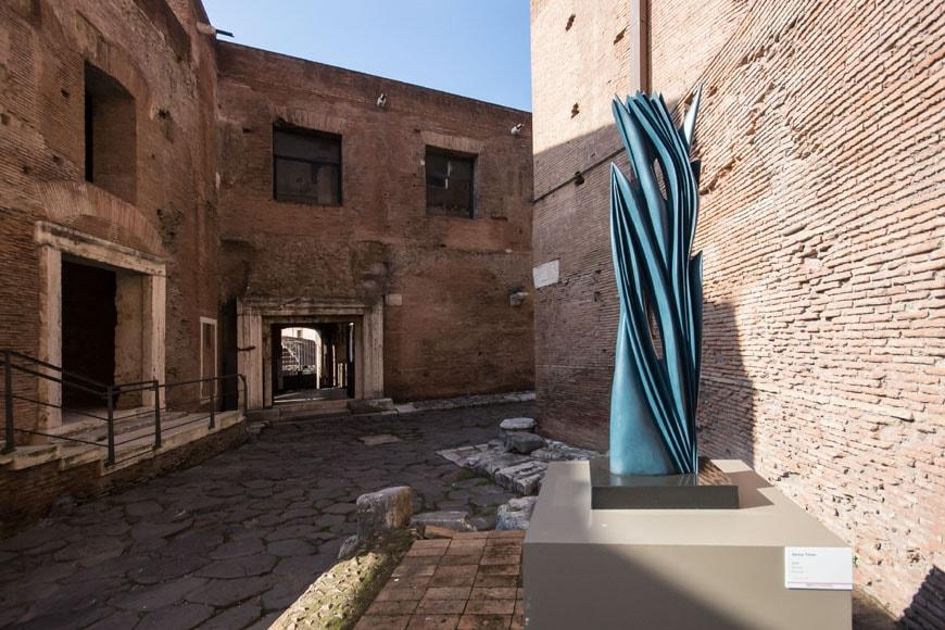 Imperial Fora Museum Rome Museo Fori Imperiali Inexhibit 21
