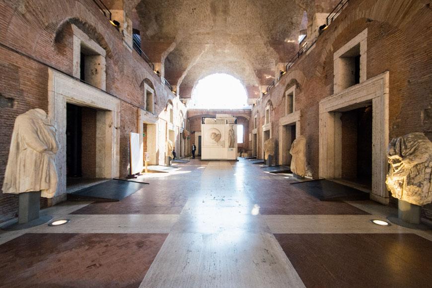 Imperial Fora Museum Rome Museo Fori Imperiali Inexhibit 22b