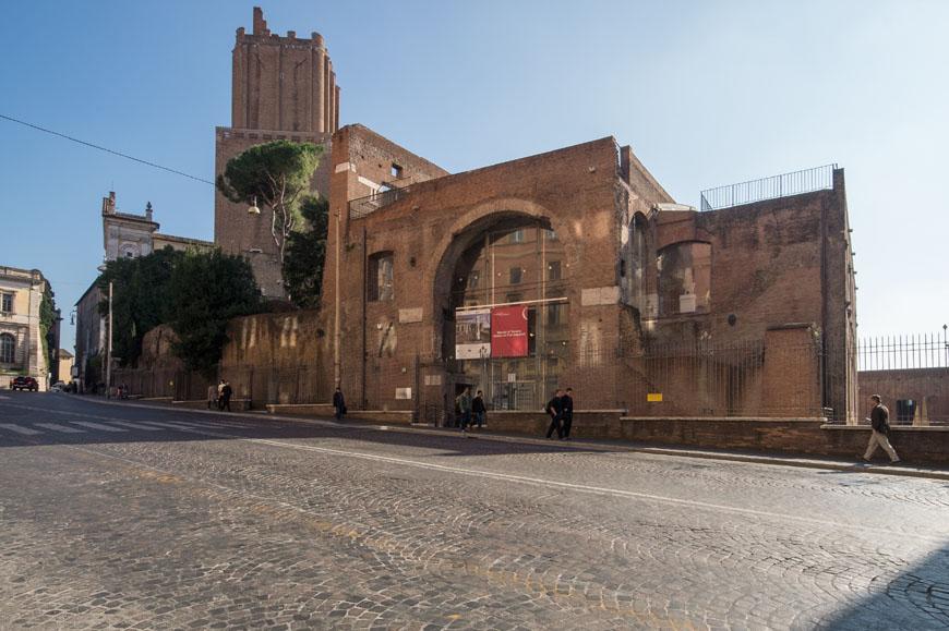 Imperial Fora Museum Rome Museo Fori Imperiali Inexhibit 24
