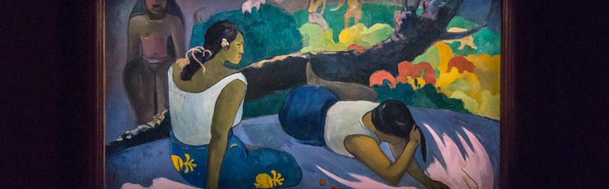 Paul Gauguin The amusement of the Evil Spirit (1894) © www.Inexhibit.com