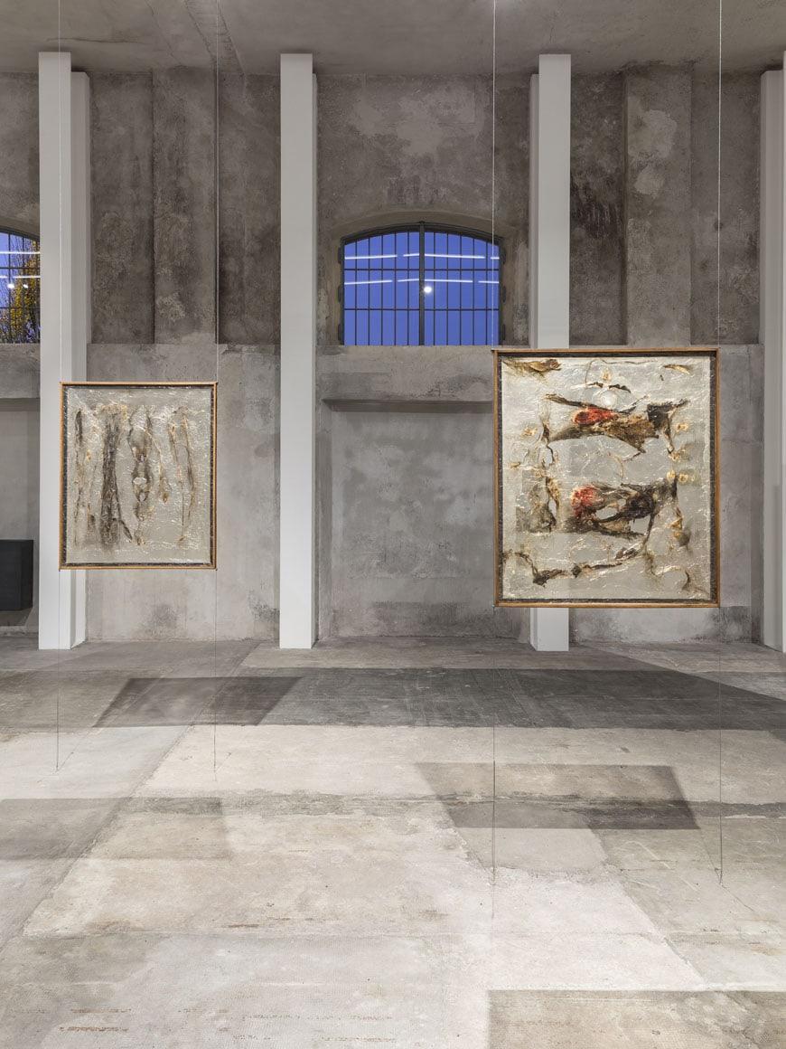 Alberto Burri Recto-Verso-Prada-Milan