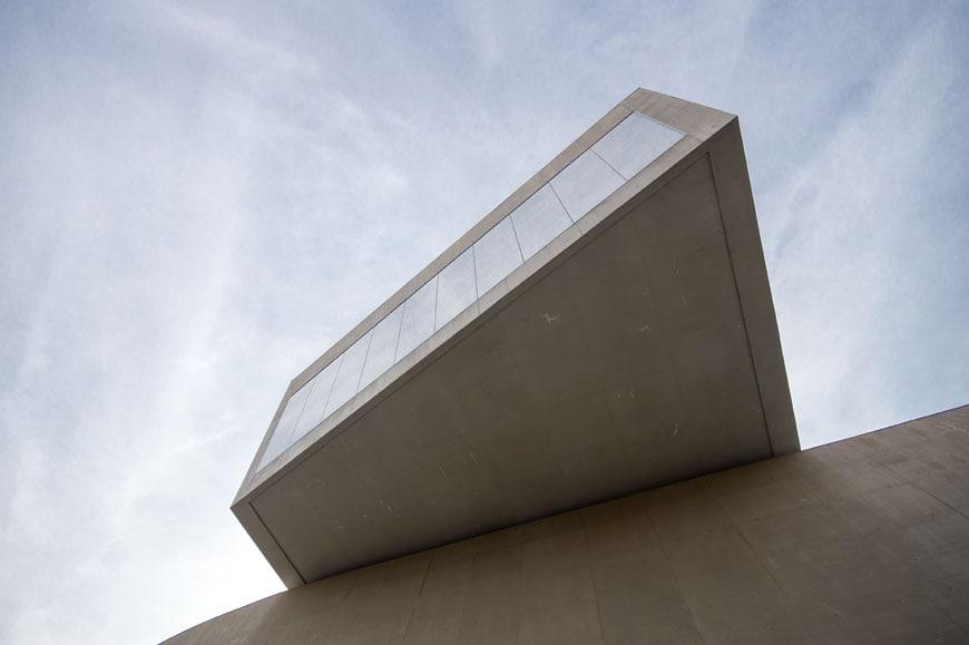MAXXI museum Rome Zaha Hadid Inexhibit 01