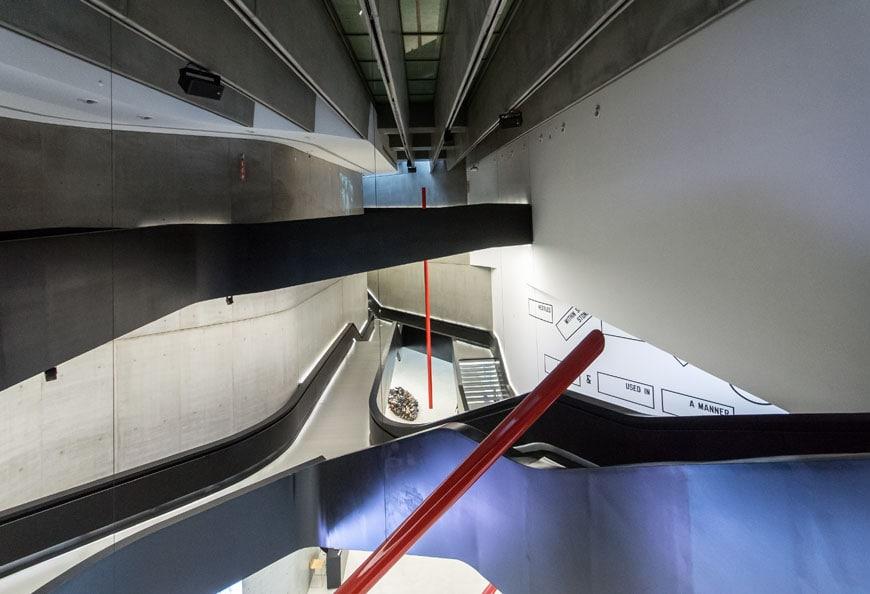 MAXXI museum Rome Zaha Hadid Inexhibit 05