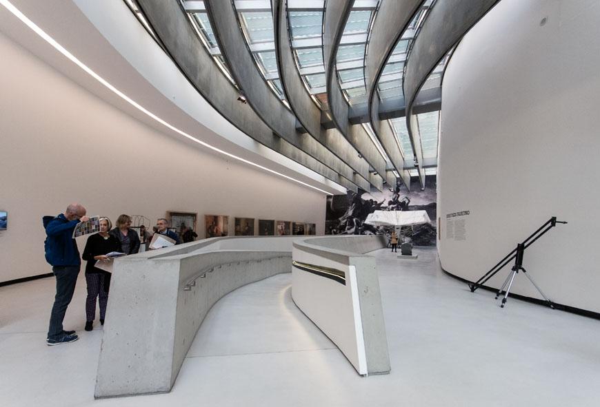 MAXXI museum Rome Zaha Hadid Inexhibit 06
