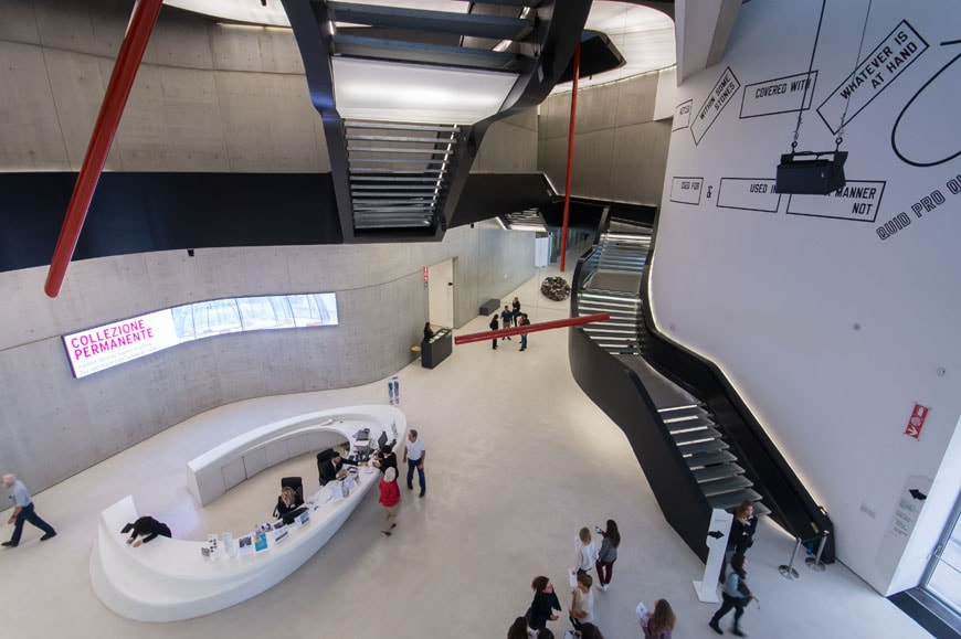 ground floor and first floor plans maxxi museum rome zha