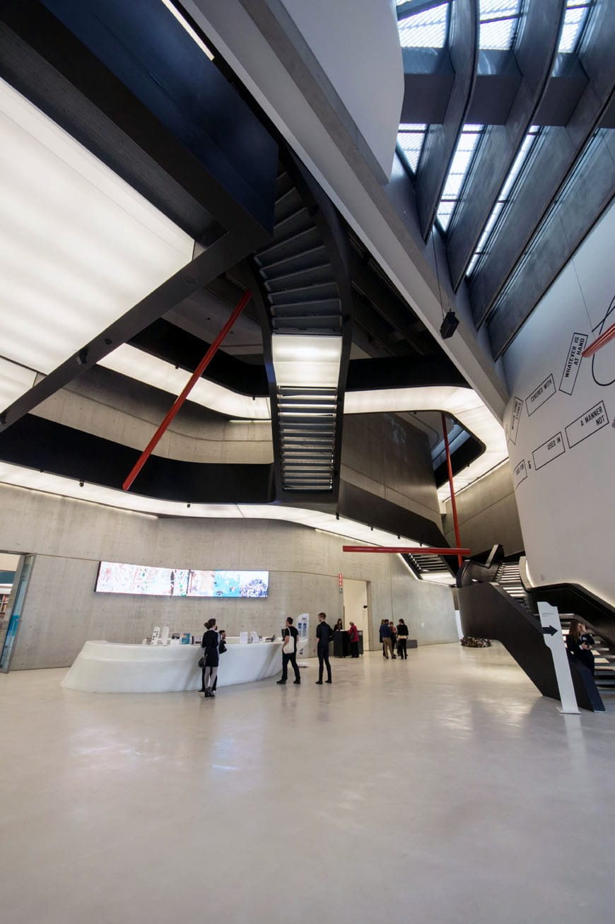 Zaha Hadid The Maxxi Museum Rome Part 2