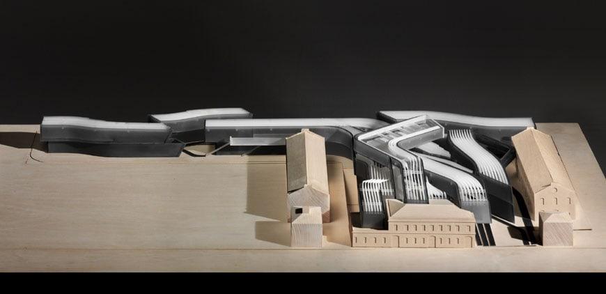 MAXXI museum Rome Zaha Hadid model 2