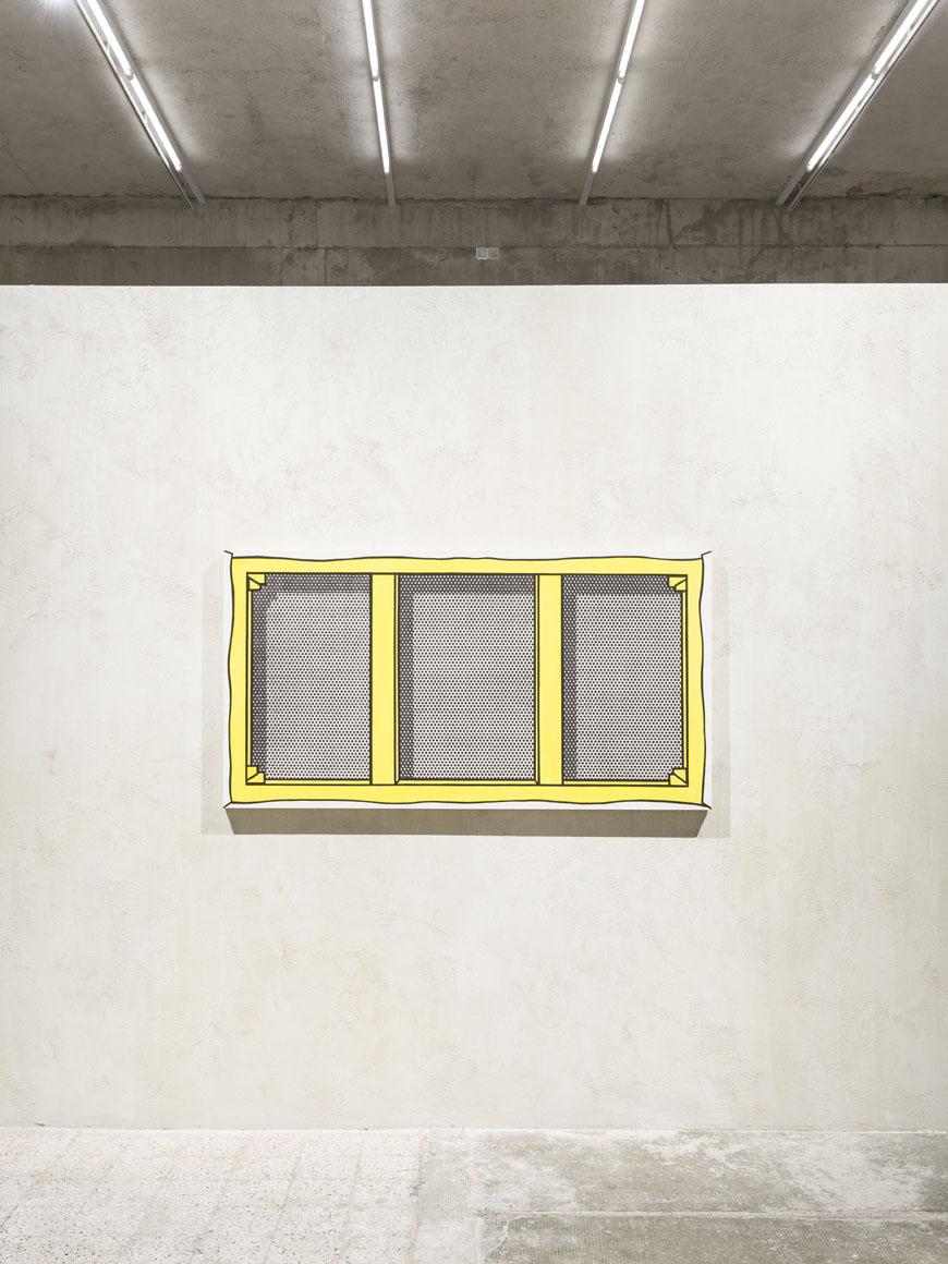 Roy Lichtenstein Recto-Verso-Prada-Milan installation view