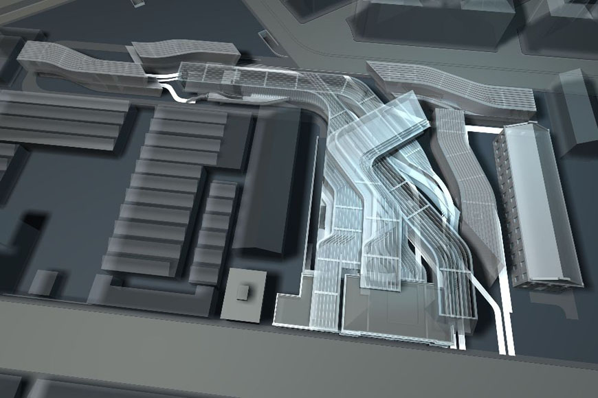 maxxi museum zaha hadid scheme