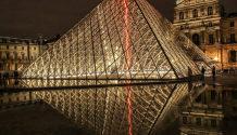 Cristiana Logrand Louvre Museum Paris