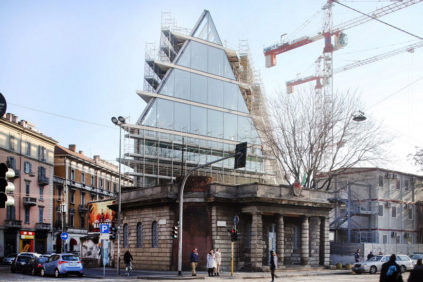 Milan | Images of the Feltrinelli Foundation by Herzog & de Meuron
