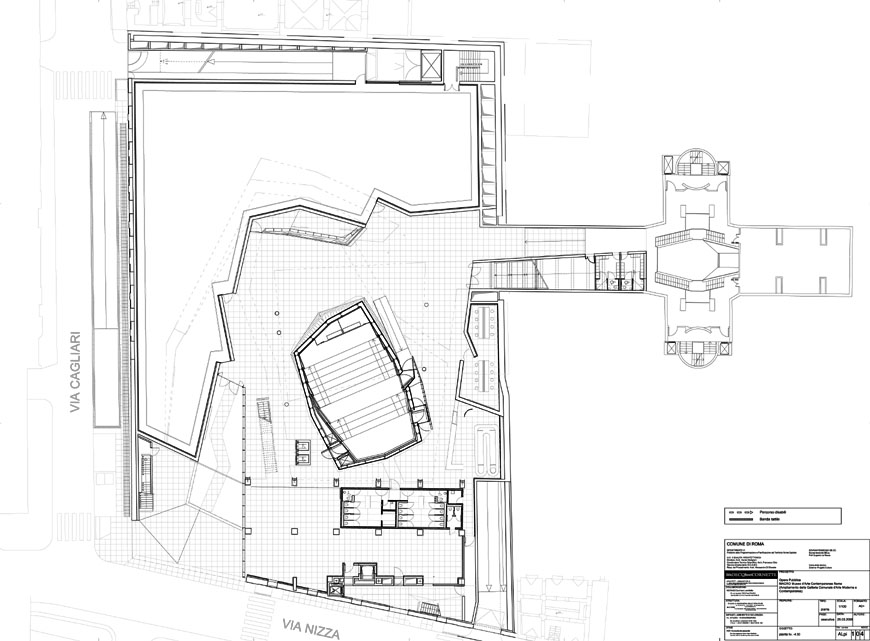 MACRO museum Rome Odile Decq +1 plan
