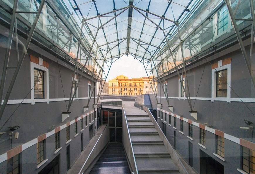 MACRO museum Rome Odile Decq Inexhibit 12